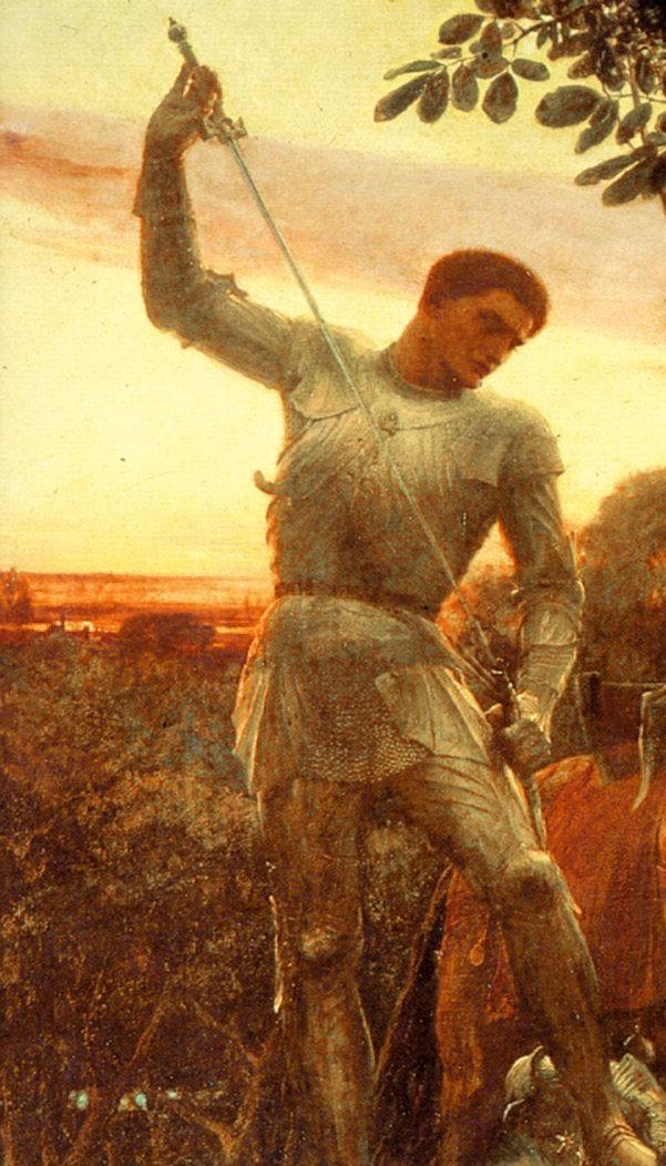 Dicksee Chivalry 1885 e1536694845926 - Los Caballeros