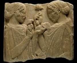 Demeter Persefone eleusis - Perséfone