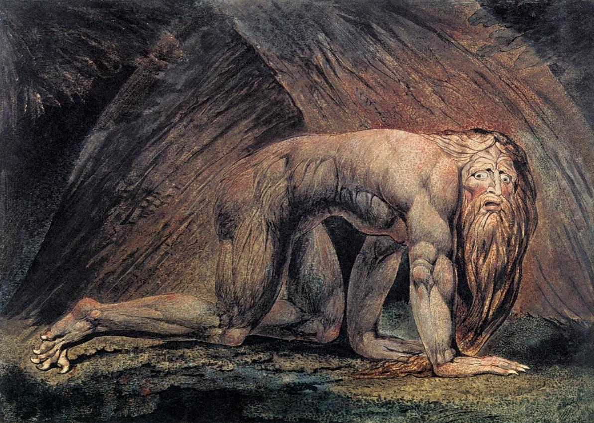 blake william nebuchadnezzar - Degradation